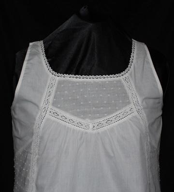 1420 Sleeveless Organic Cotton Shirt