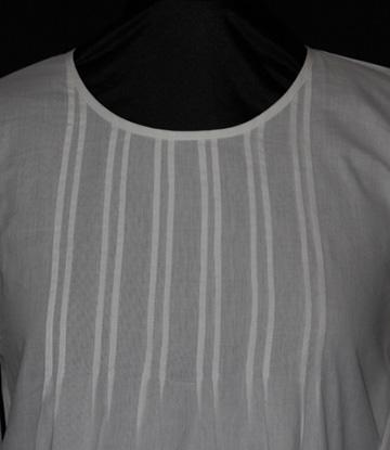 1424 Pintuck Organic Shirt
