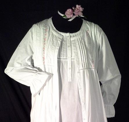 1237  Pink Rose Robe