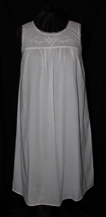500-3 Round Neck Sleeveless Gown